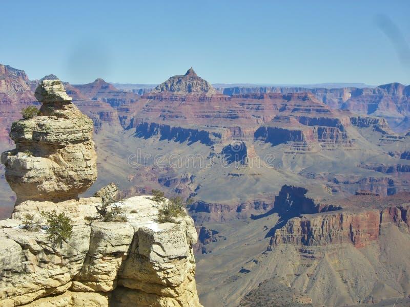 Sceniczny widok nad Grand Canyon obraz royalty free