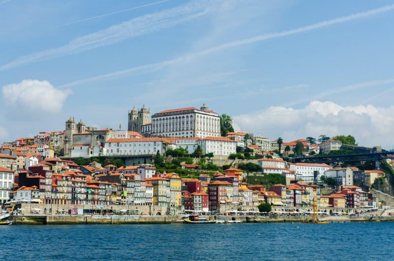 Download Sceniczny Widok Porto Miasto Obraz Stock - Obraz złożonej z architektury, panorama: 57653607