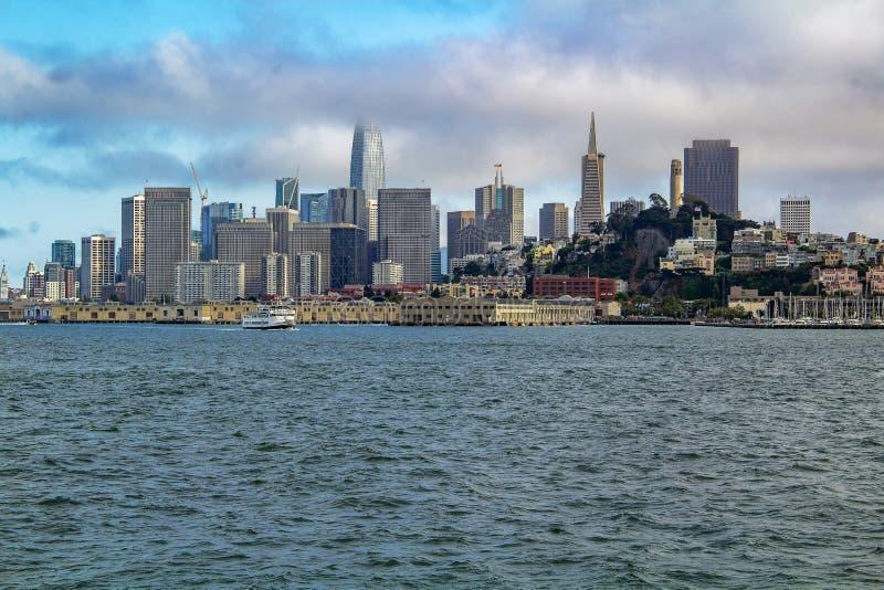 Sceniczny widok San Francisco, Kalifornia fotografia stock