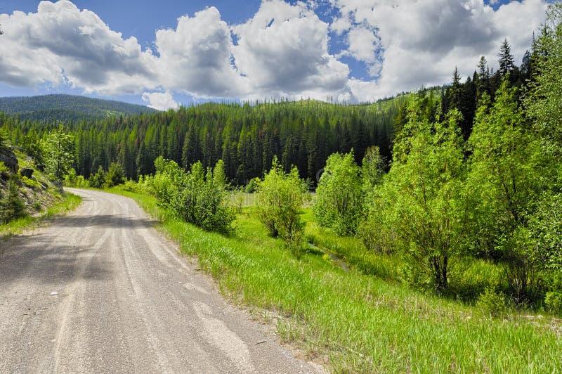 Scenisk Byway i Montana royaltyfria foton