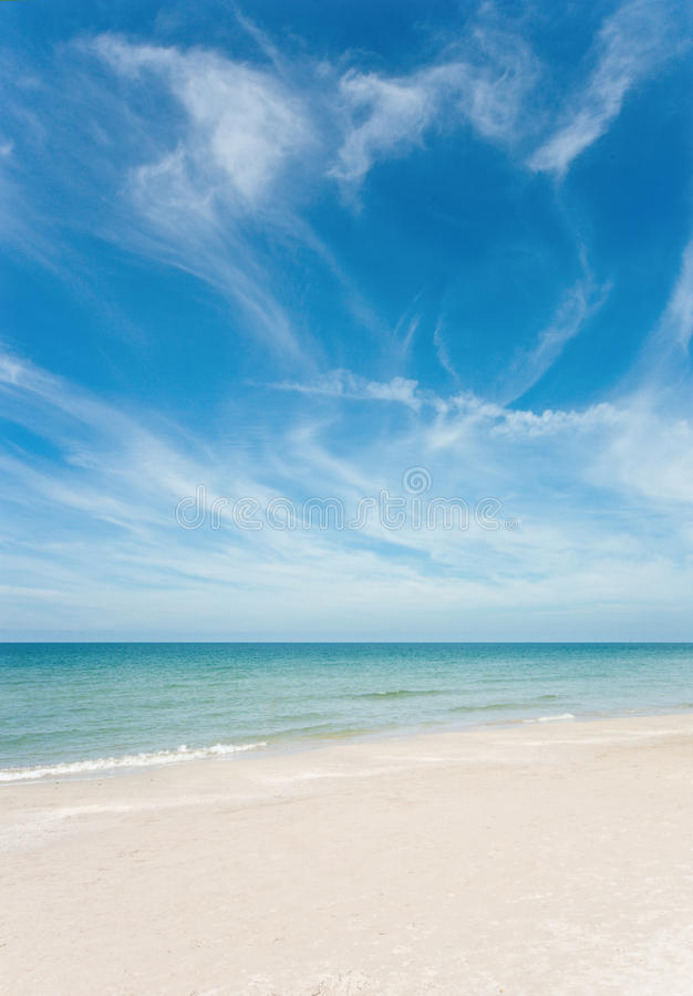 scenisk havsthailand sikt royaltyfri foto