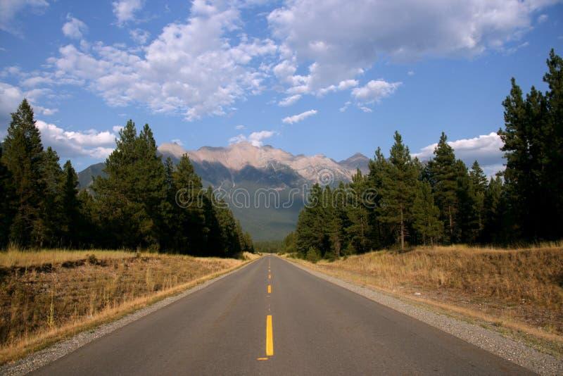 scenisk Kanada väg arkivfoton