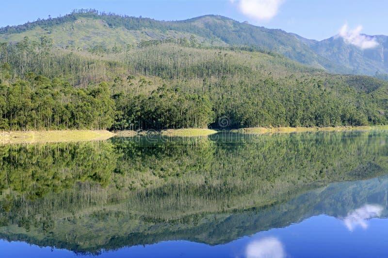 Scenisk Mattupetty sjö Munnar arkivbilder