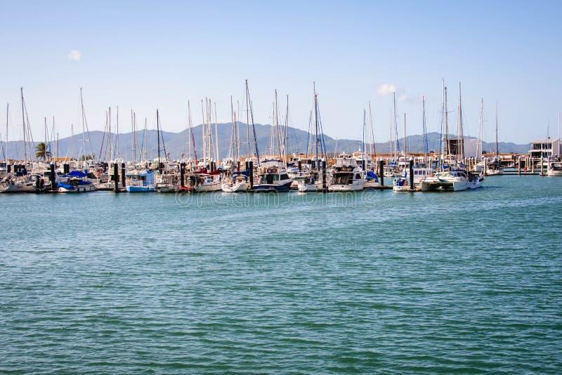 Scenisk sikt av den Townsville sjömannen, Queensland Australien royaltyfri foto