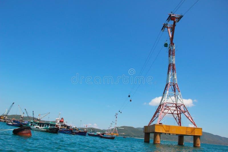 Scenisk sikt av havet royaltyfri foto