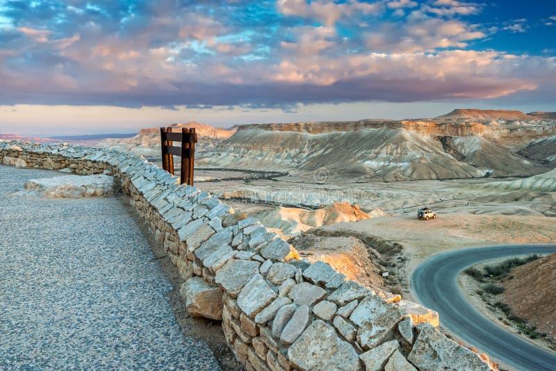 Download Scenisk Sikt På Den Ein Avdat Nationalparken, Israel Arkivfoto - Bild av östligt, kibbutz: 76701170
