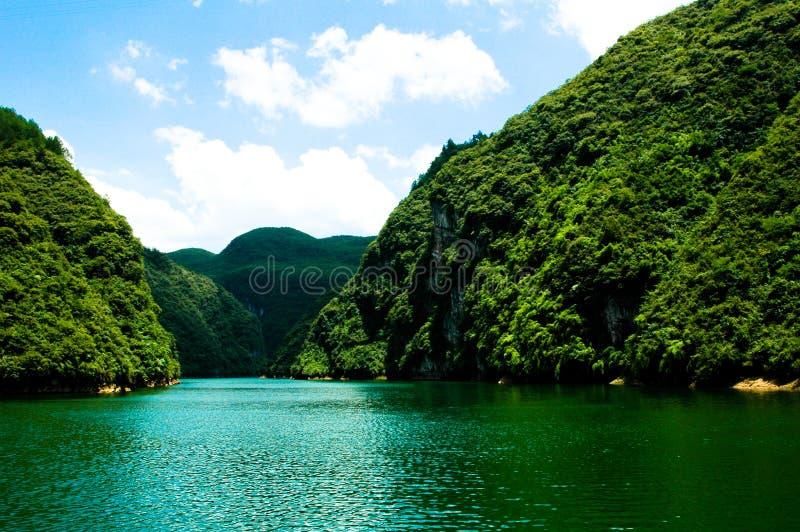 sceniska floder royaltyfri fotografi