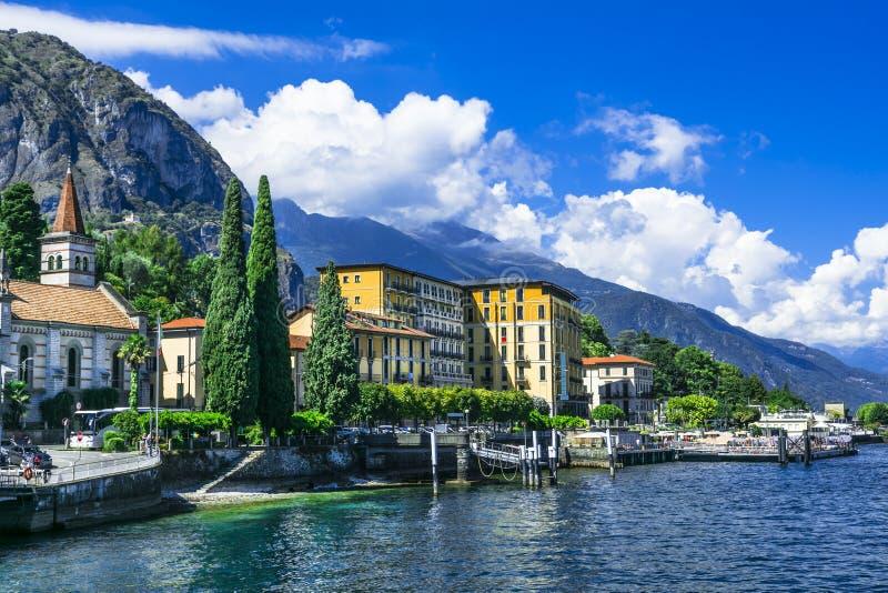 Sceniska landskap av Lago di Como royaltyfri bild