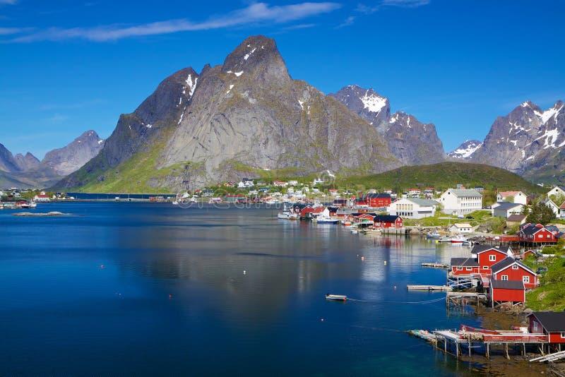 Sceniska Norge i sommar royaltyfria bilder