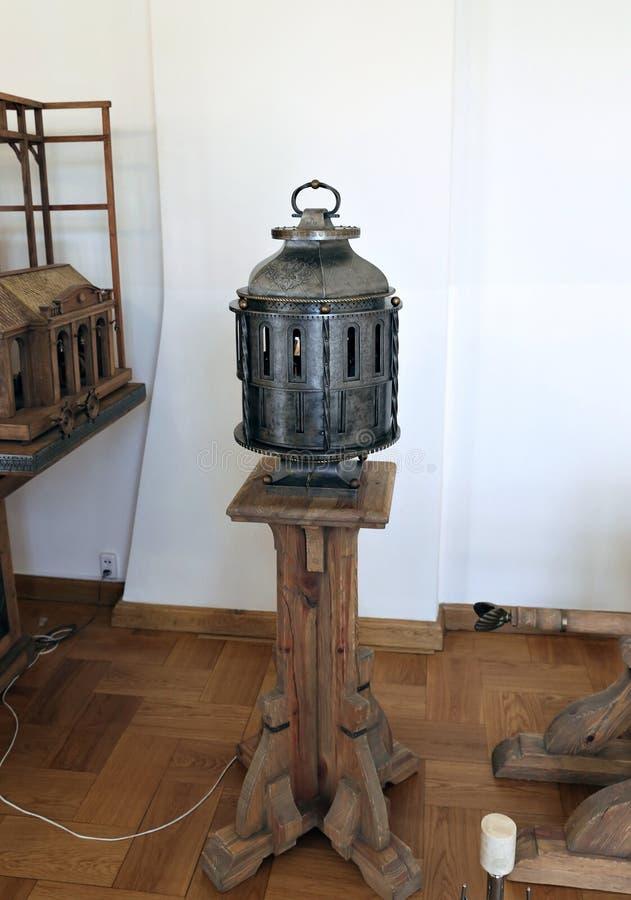 Sceniska oväsenmaskiner till efterföljdljud royaltyfri foto