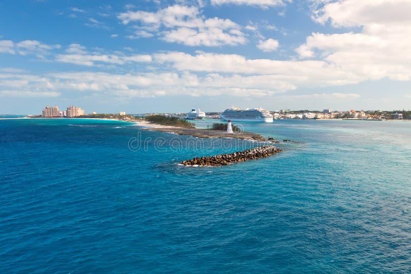 Nassau Bahamas fotografering för bildbyråer