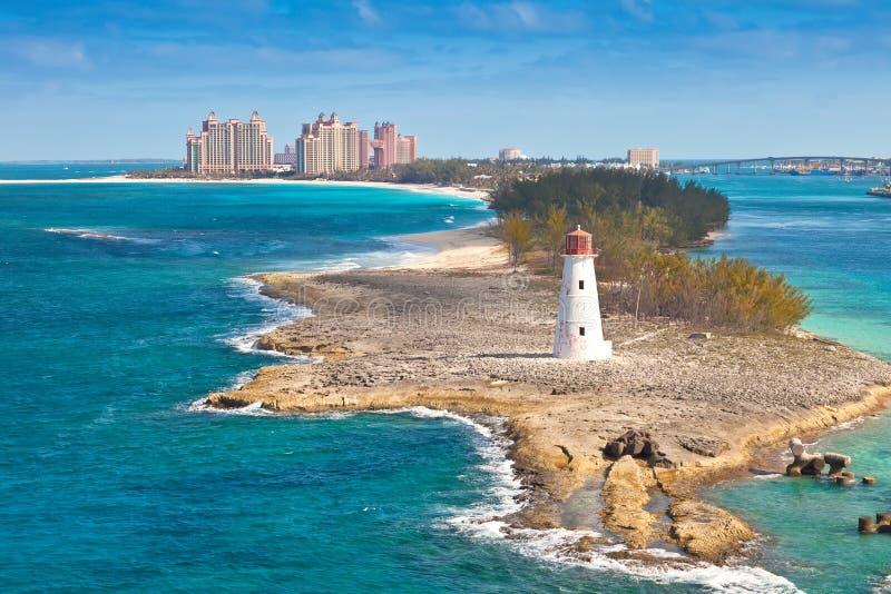 Nassau Bahamas arkivbilder