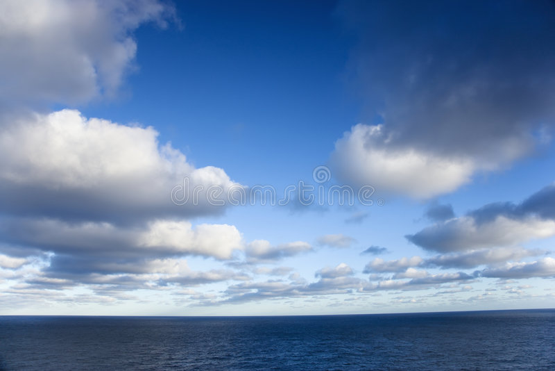 sceniskt hav fotografering för bildbyråer