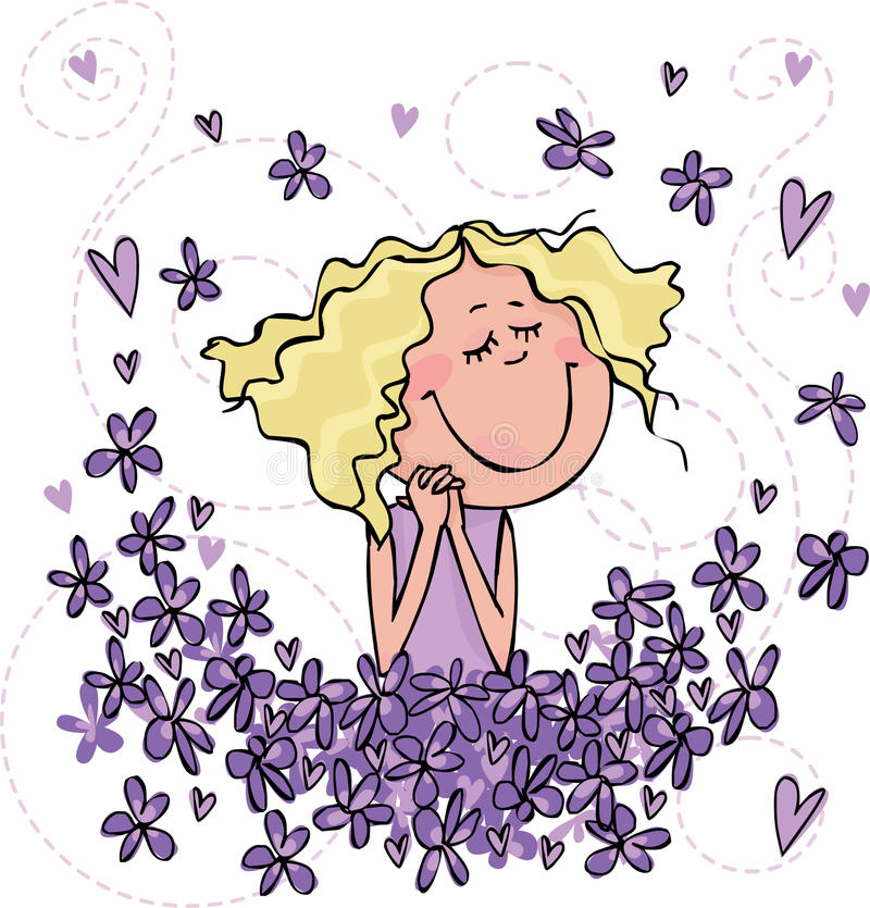 Free Scent Of Violets Stock Photos - 17761153