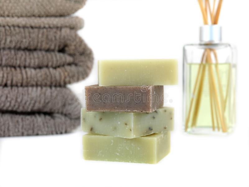 Download Scented Soaps stock photo. Image of health, block, harmony - 13341126