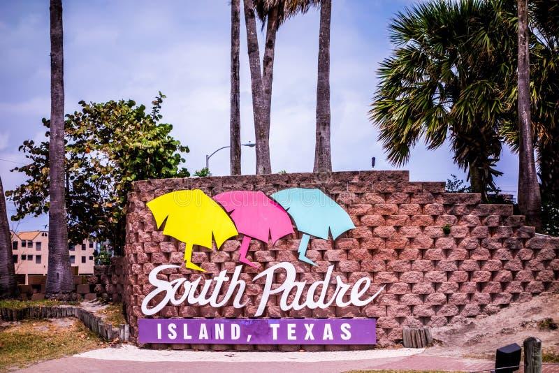 Sceny na południowej padre wyspie Texas obrazy stock
