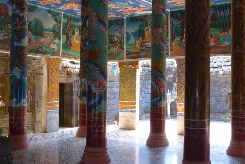 Sceny od Buddha życia fotografia stock