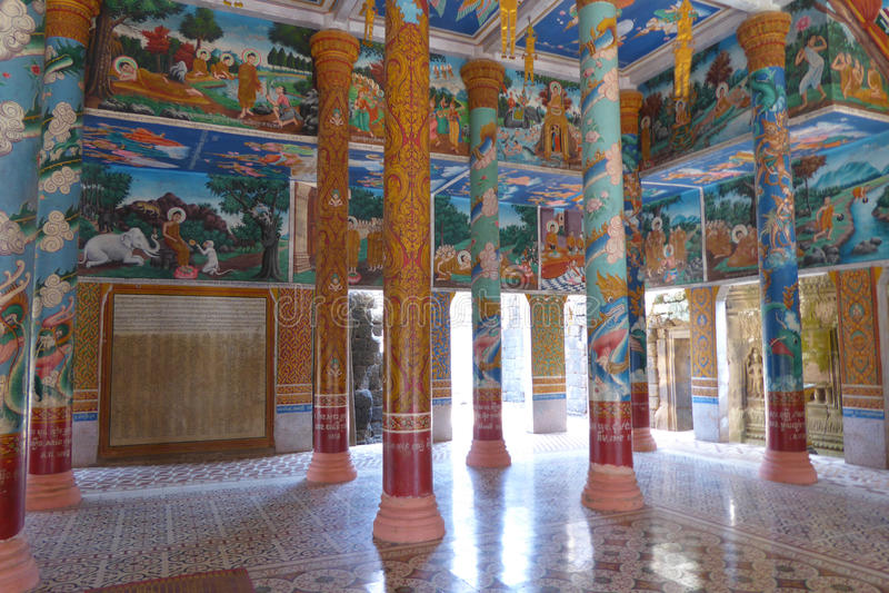 Sceny od Buddha życia zdjęcie royalty free