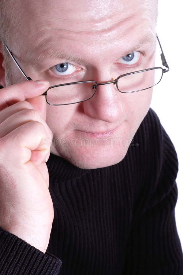 Sceptical royalty free stock image