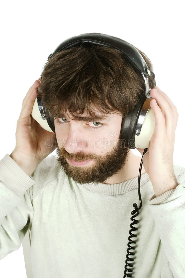 Download Sceptical Music stock image. Image of person, human, isolation - 534749