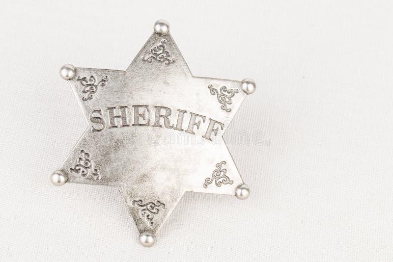 Sceriffo Badge immagine stock libera da diritti