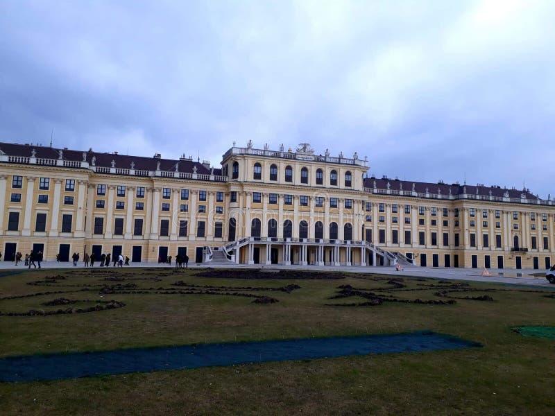 Schönbrunn stockfotografie