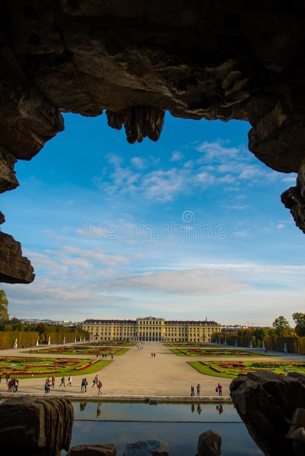 Schönbrunn Palace royalty free stock images