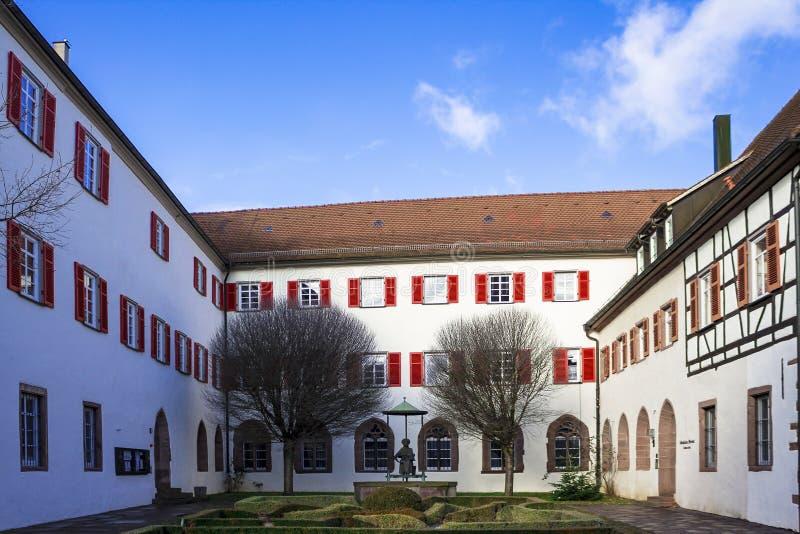 Schöne alte deutsche Stadt oder Großstadt nahe Stuttgart Weil Der Stadt, Deutschland lizenzfreies stockbild