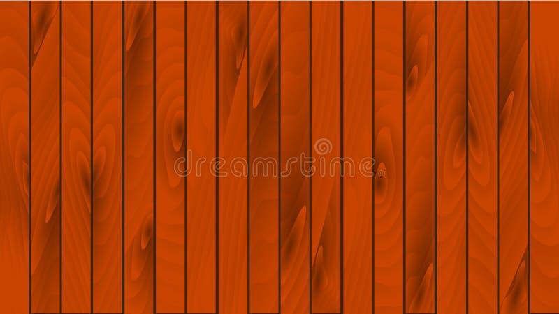 Schöne hölzerne braune Bretter mit Knoten, Nähten und hölzerner Beschaffenheit Die Beschaffenheit des hölzernen Fußbodenbrettes,  lizenzfreie abbildung