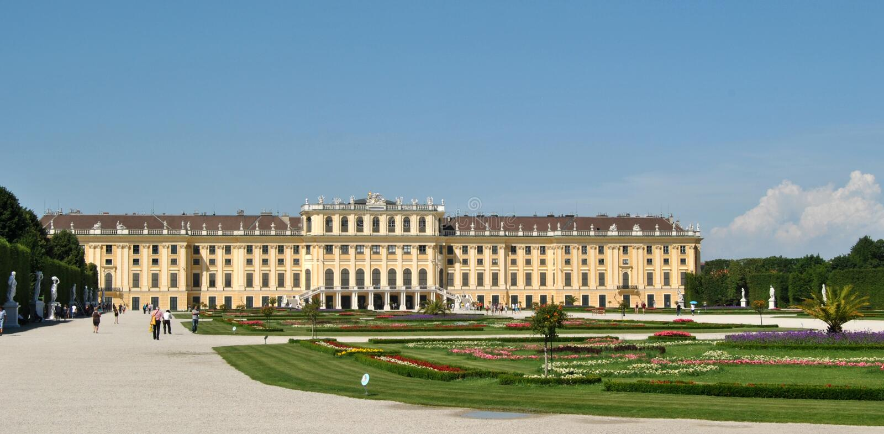 Schönbrunn imagens de stock