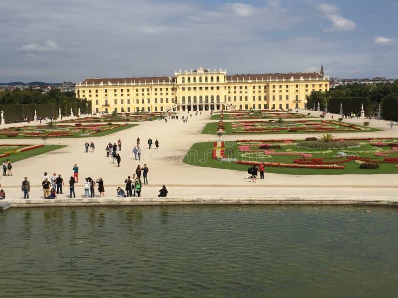 Schönbrunn royaltyfria foton