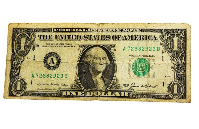 Schäbiger Dollar stockbild