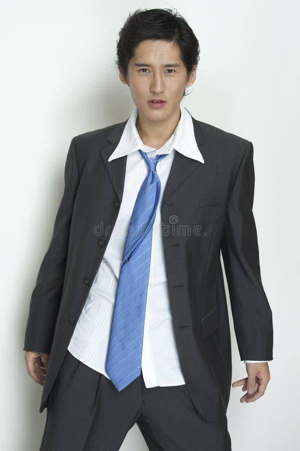 Schäbiger Geschäftsmann stockfoto