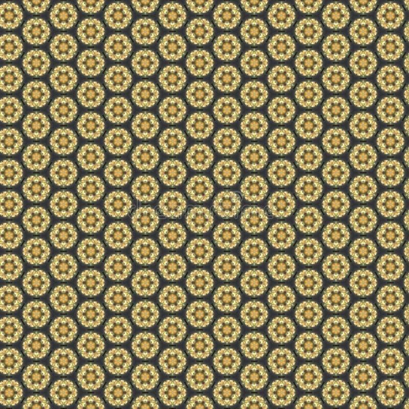 Schäbiger Hintergrund der Weinlese mit noblen Mustern vektor abbildung
