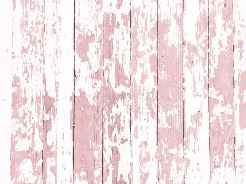 Schäbiges Holzkornbeschaffenheitsweiß wusch sich mit beunruhigter Schalenfarbe lizenzfreie stockfotos