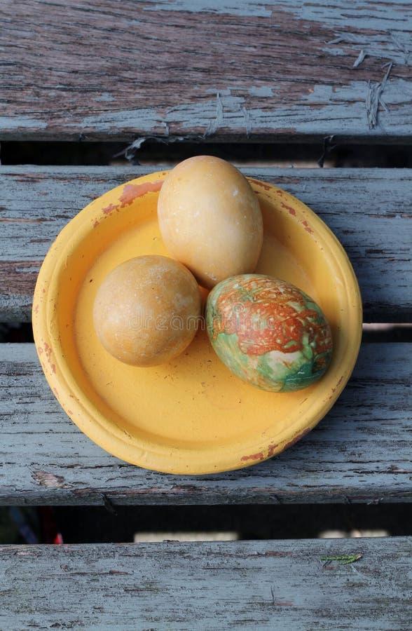 Schäbiges schickes Ostern lizenzfreie stockbilder
