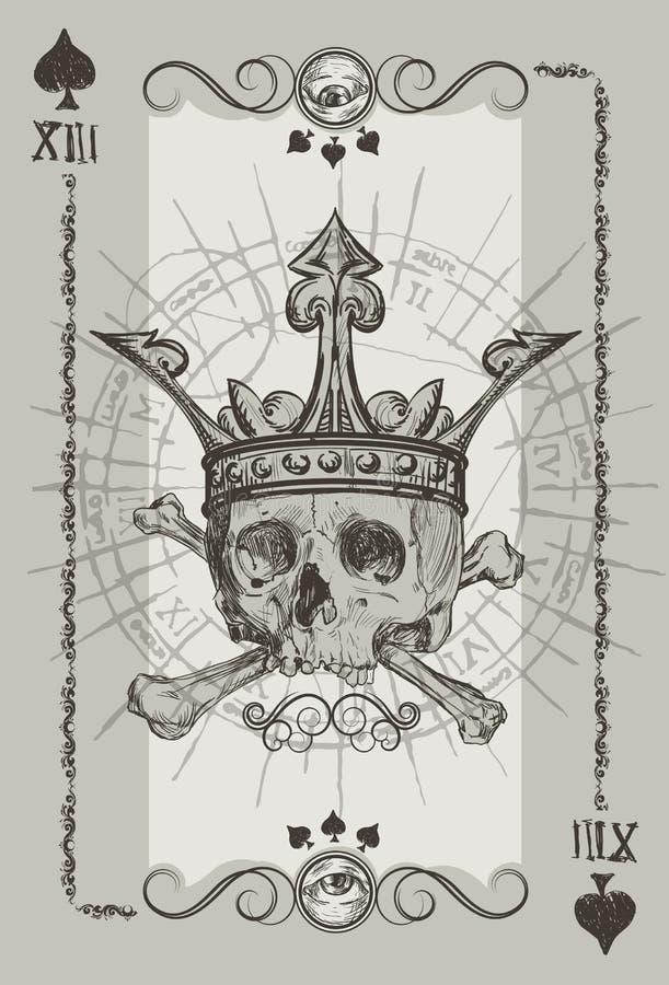 Schädel und Knochen vektor abbildung