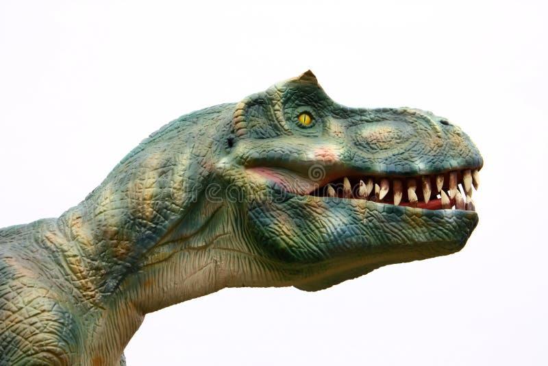 Download Schändlicher Dinosaurier stockfoto. Bild von kopf, gigantisch - 12203654