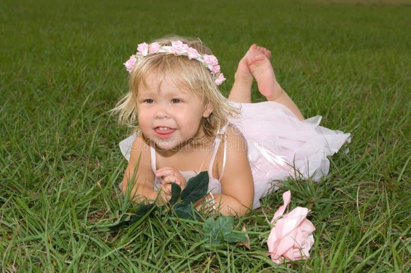 Schätzchen-Ballerina lizenzfreies stockfoto