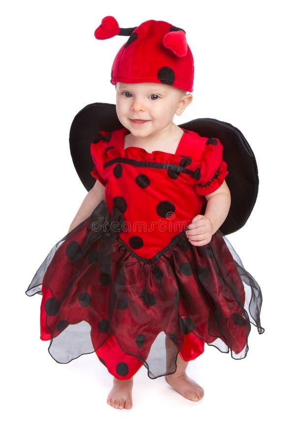 Schätzchen-Halloween-Kostüm stockbilder