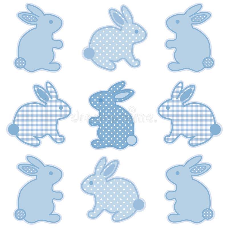 Schätzchen-Osterhasen lizenzfreie abbildung
