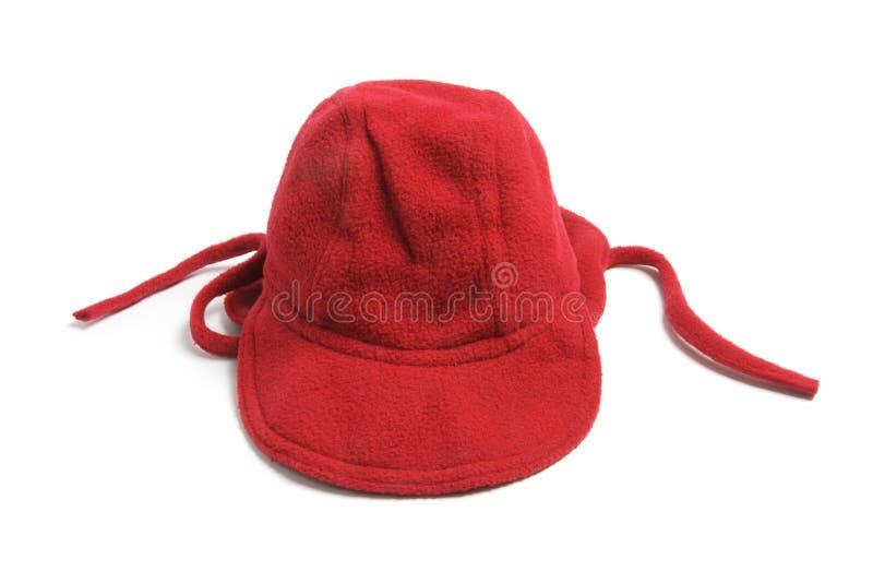 Schätzchen-Vlies-Mütze lizenzfreies stockbild