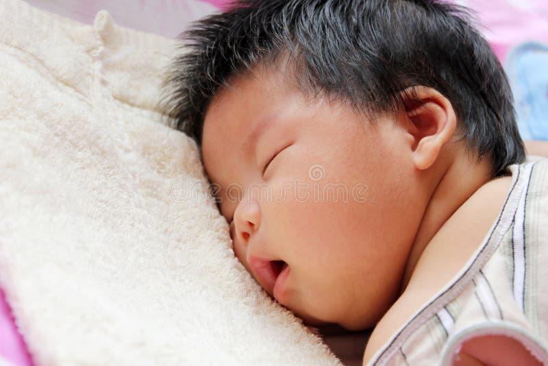 Schätzchenschlafen stockbild
