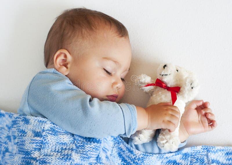 Schätzchenschlafen lizenzfreies stockfoto
