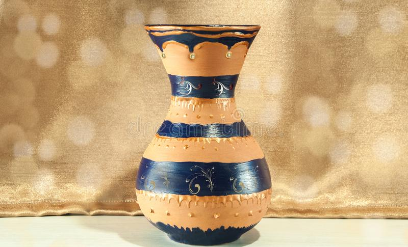 Schön ein Vase lizenzfreie stockbilder
