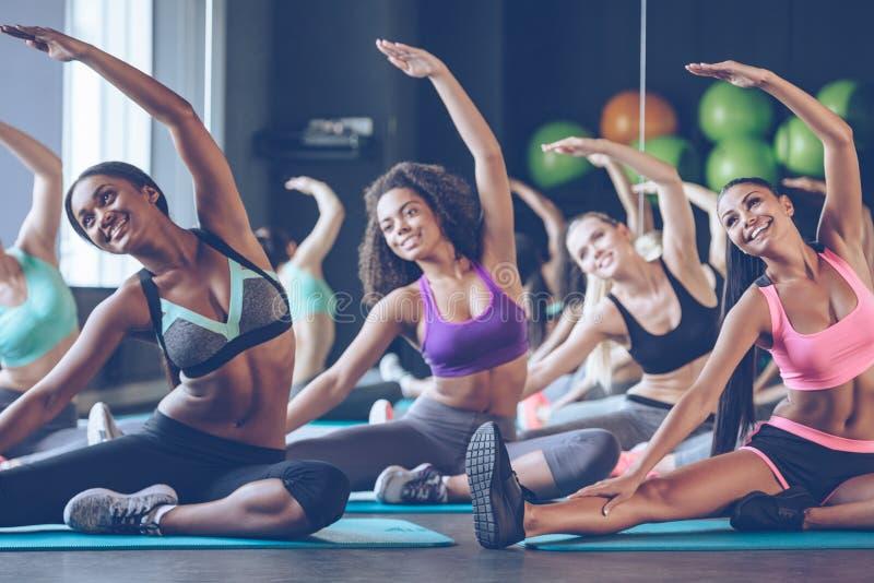 Schön und flexibel stockbilder