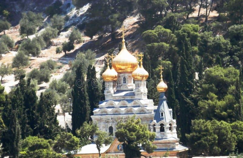 Schöne alte Cristian-Kirche in Phalestin stockfotos