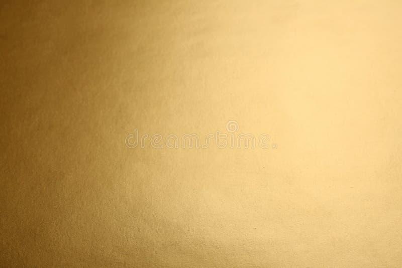 Schöne Ansicht der einfachen goldenen Oberfläche stockfotografie