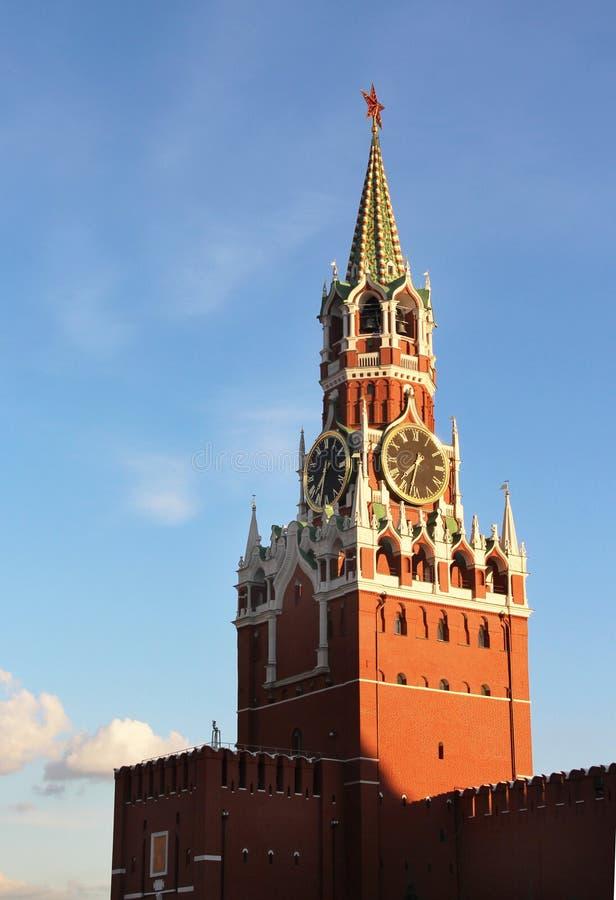 Schöne Ansicht vom Kreml, Moskau stockfotos