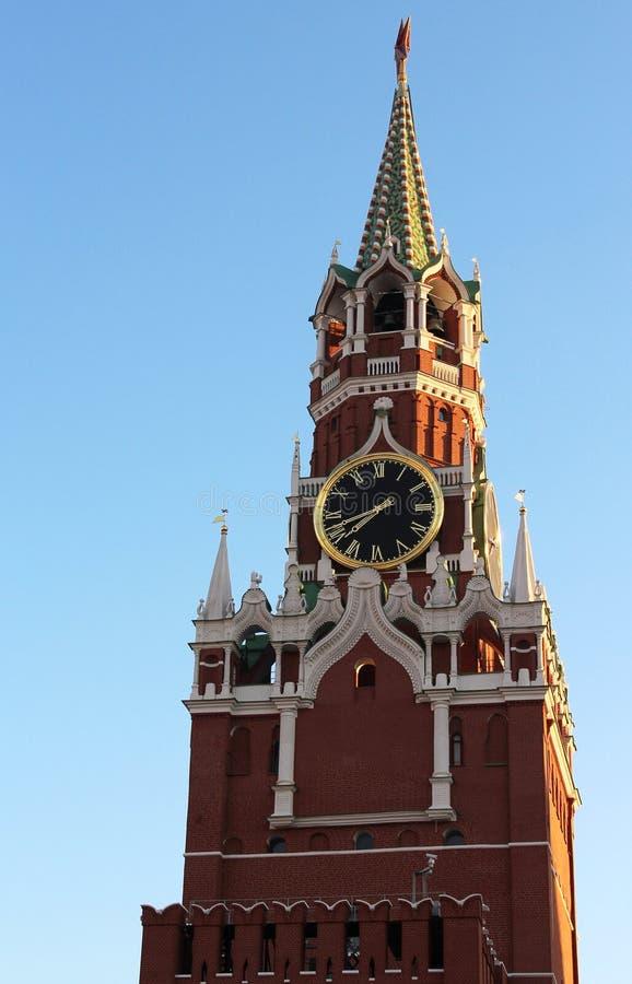 Schöne Ansicht vom Kreml, Moskau, Russland stockbild